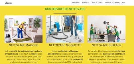 Société de nettoyage à Casablanca et partout au Maroc